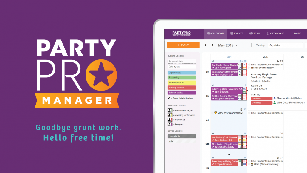 Party Pro Manager