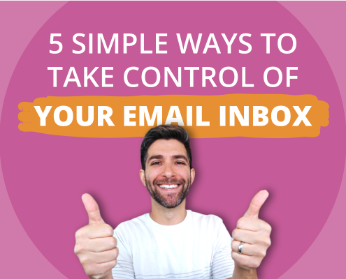 5 Email Tips to Take Control of Your Inbox