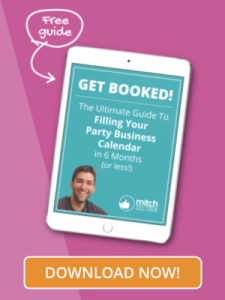 Free Guide To Filling Your Party Business Calendar