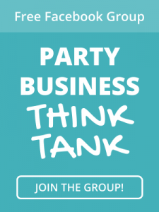 Join the Party Business Think Tank - free!