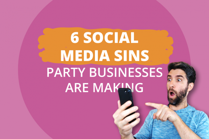 Social Media Sins Party Businesses Must Avoid