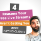 4 reasons your free live streams aren't getting you more paying clients
